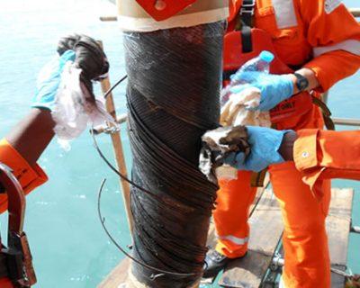 Flexible Riser Repairs Offshore